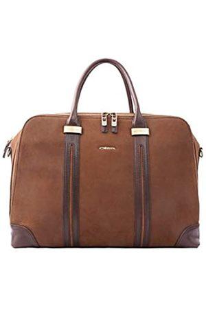 Giorgio Ferretti Riesige Herren-Reisetasche aus echtem Leder für Reisen