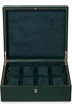 Wolf Herren Uhren - British Racing Green 8 Piece Watch Box