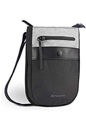Sherpani PRIMA Anti-Diebstahl Crossbody Tasche Reise Crossbody Geldbörse Mini Umhängetasche Kleine Geldbörsen für Frauen RFID Schutz, Silber (Sterling)