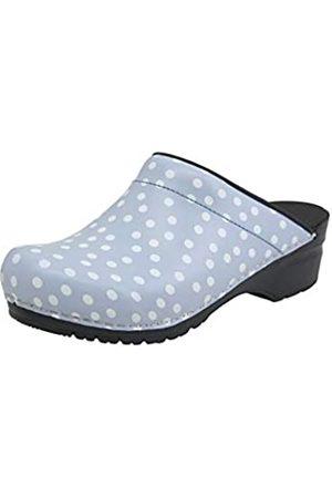 Sanita Damen Clogs & Pantoletten - | Fenja offener Clog | Original handgemacht | Flexible Leder-Clogs für Damen | | 42 EU