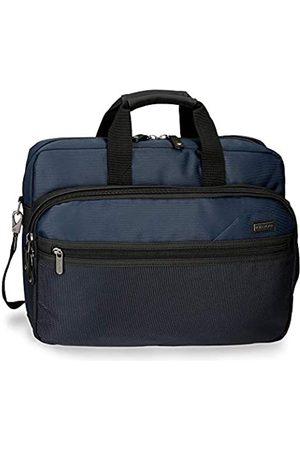 Roll Road Stock Anpassbare Laptop-Aktentasche mit zwei Fächern 42x30x8 cms Polyester 15