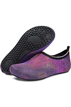 Barerun Damen Sport BHs - Barefoot Schnell trocknende Wassersportschuhe Aqua Socken für Schwimmen Strand Pool Surfen Yoga für Damen Herren