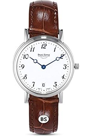 Soehnle Bruno Söhnle Damen Analog Quarz Uhr mit Leder Armband 17-13110-920