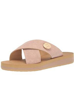 Lindsay Phillips Lotus-Blush Slide Damen-Sandale, Pink (blush)