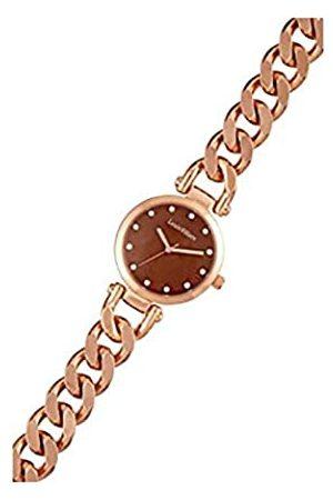 Louis Villiers Unisex Analog Quarz Uhr mit Edelstahl Armband AL2927-10