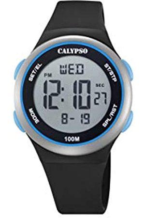 Calypso Unisex Digital Quarz Uhr mit Plastik Armband K5804/4