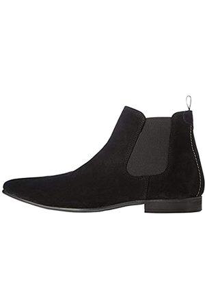 FIND Albany Herren, Chelsea Boots, (Black Suede)