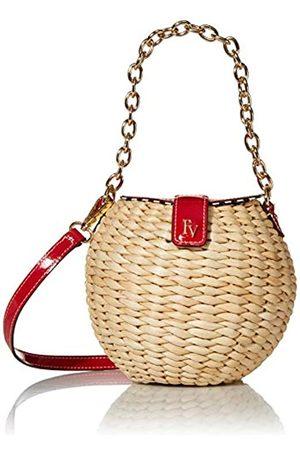 FRANCES VALENTINE Damen Basket Patent Honeypot, Korb/Crossbody-Tasche