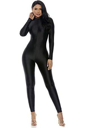 Forplay Damen Jumpsuit mit Stehkragen - - Medium / Large