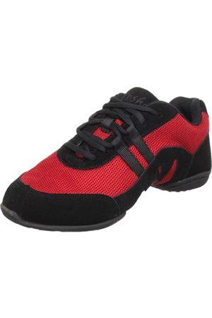 SANSHA Blitz 3 Dance Sneaker,Red/Black