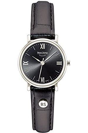 Soehnle Bruno Söhnle Damen Analog Quarz Uhr mit Leder Armband 17-13045-871
