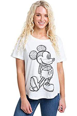 Disney Damen T-Shirts, Polos & Longsleeves - Damen Mickey Mouse Sketch T-Shirt
