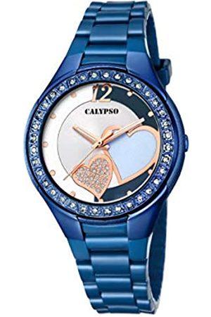Calypso Damen Analog Quartz Uhr mit Plastik Armband K5679/R