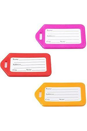 zxc11 Gepäckanhänger für Männer und Frauen, Reise-ID-Etiketten, Namensschilder