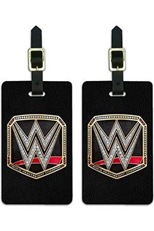 Graphics and More WWE World Heavyweight Champion Gepäckanhänger für Champion