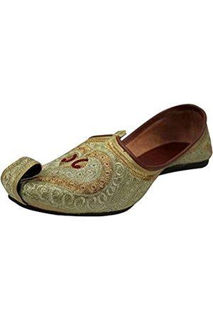 Stop n Style Khussa Punjabi Jutti für Herren Mojari Schuhe für Herren Khussa Jutti Sherwani Jutti