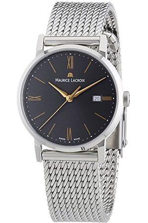 Maurice Lacroix Damen-Armbanduhr XS Eliros Analog Quarz Edelstahl EL1084-SS002-811