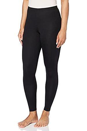 IRIS & LILLY Amazon-Marke: Damen Leichte Thermo-Leggings, 2er-Pack (Black)