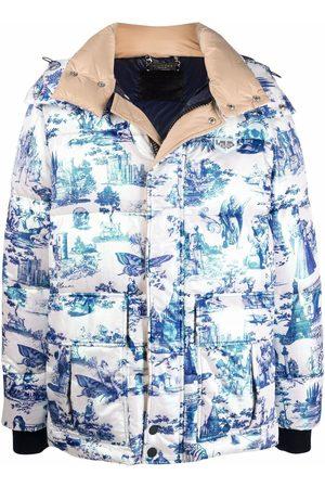 Philipp Plein Winterjacken - Gefütterte Jacke mit Reißverschluss