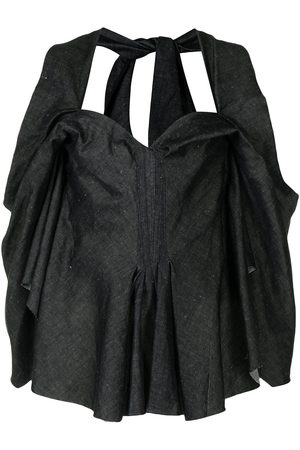MATICEVSKI Damen Tops & T-Shirts - Top mit Herzausschnitt