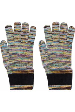 Missoni Damen Handschuhe - Gestreifte Handschuhe