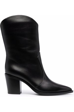 Gianvito Rossi Pointed leather boots