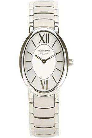Soehnle Bruno Söhnle Damen Analog Quarz Uhr mit Edelstahl Armband 17-13141-272