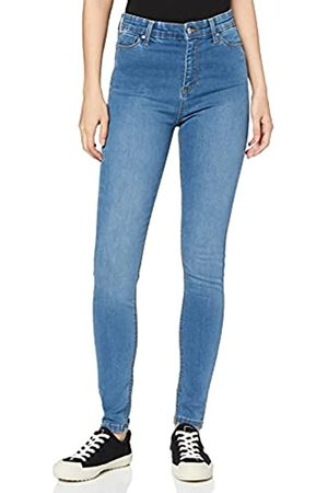 MERAKI Damen Skinny - Amazon-Marke: Damen Skinny Jeans mit hohem Bund, 28W / 30L