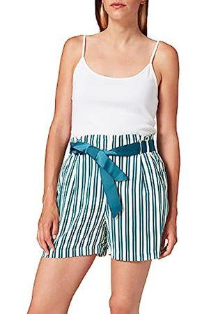 Springfield Damen Shorts - Damen 5.pc.Short Print Cinturon Shorts