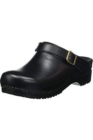 Sanita Damen Clogs & Pantoletten - Unisex-Adult Clog, Black