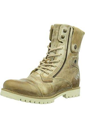 Yellow Cab Damen Soldier Eva W Combat Boots, (Taupe)