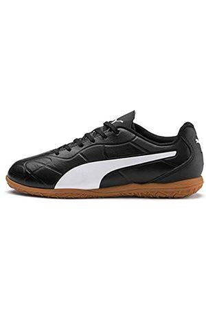 PUMA Monarch IT Jr Sneaker, Black White