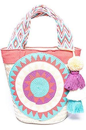 Generic By Paht Strohtasche Strandtasche Wayuu Handtasche
