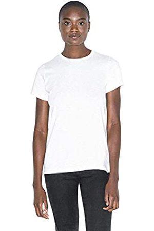 American Apparel Damen Organic Fine Jersey Classic Crewneck Short Sleeve T-Shirt