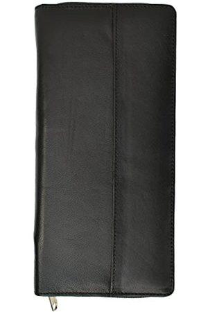 Marshal wallet RFID-Premium-Leder-Reisetasche mit Reißverschluss für Kreditkarten und Reisepass - 8.03699E+11