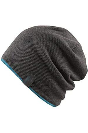 Chillouts Erwachsene Brooklyn Hat Longbeanie, 20 Dark Grey/Ocaen