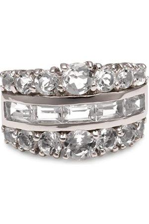 Renato Fellini Damen-Ring Fantasy 925 Sterlingsilber 19 Bergkristall weiss Gr. 66 (21.0) HEJKR5632wtq 21