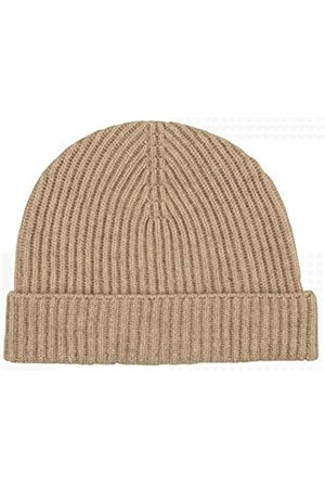 Graham Cashmere Unisex Pure Cashmere Rib Beanie - Made in Scotland Gr. One size