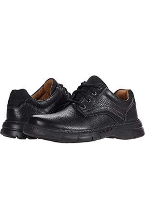 Clarks Un Brawley Pace Black Tumbled Leather 10 D (M)