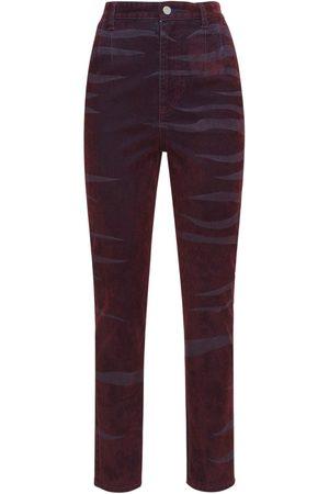 KOCHÉ Enge, Hochtaillierte Jeans