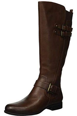 Naturalizer Women's Jessie Knee High Boot, Chocolate