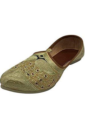 Step N Style Traditionelle Schuhe Mojari für Herren Punjabi Jutti Sherwani Schuhe Indische Schuhe Mojari Ethnische Schuhe