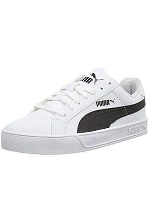 PUMA Herren Smash Vulc Low-Top, (White-Black 05)