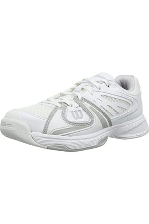 Wilson Damen Rush 2 W 3.5 Tennisschuhe, Mehrfarbig (White/Steel Grey/White)