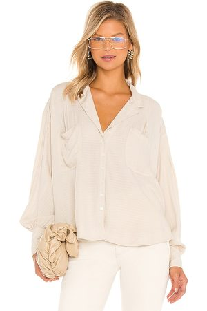 Free People Erin's Buttondown in . Size M, S, XS.