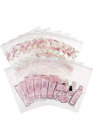 MIAMICA Print 12-teiliges Set mit 12 Taschen in Quartz-Größe (Pink) - M20006