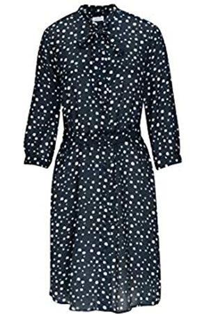 Seidensticker Damen Blusenkleid Midi Kleid
