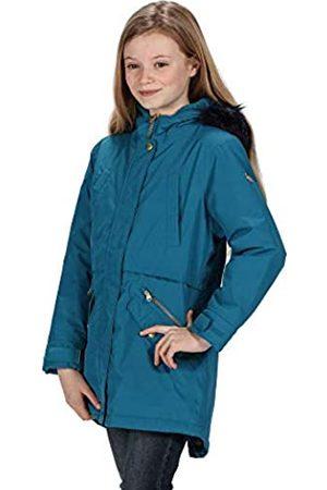 Regatta Unisex Kinder Honoria Waterproof Breathable Taped Seams Insulated Lined Hooded Parka Jacke 27 EU-28 EU