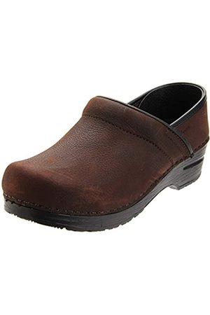 Sanita | Professional geschlossener Clog | Original handgemacht für Damen | Anatomisch geformtes Fußbett mit weichem Schaum | | 35 EU