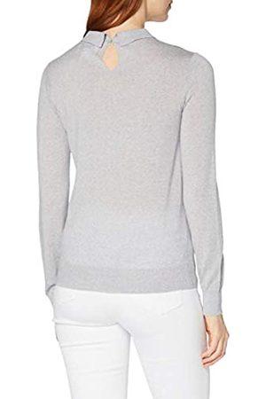 MERAKI Damen Pullover aus Merinowolle, (Light Grey Marl), 42